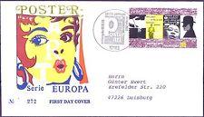 RFA 2003: Europe! Art de l'affiche FDC N° 2336! Berlinois Estampille! Gelaufen!