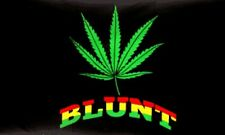 3'x5' Blunt Marijuana Leaf Flag Pot Weed Bud Smoking Joint Colorful Party 3x5