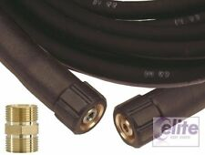 Heavy Duty 10m Pressure Washer Extension Hose M22 to Fit Kranzle Inc Coupling