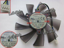 For ASUS GTX 580 graphics card cooling fan EVERFLOW T129025SU 4-wire 95mm 4-Pin