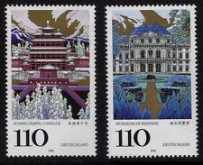 WEST GERMANY MNH STAMP SET BUNDESPOST UNESCO WORLD HERITAGE 1998 SG 2863 - 2864