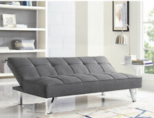 Serta SC-CRYS3LU2012 Multi-function Upholstery Fabric Sofa - Gray
