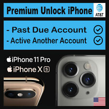 Factory Premium Unlock iPhone 11 11 Pro 11 Pro Max XS Max XS XR PAST DUE in AT&T
