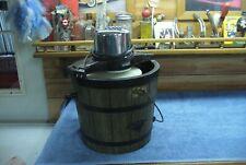 Vintage Mogomery Sala 2 Cuarto Eléctrico Helado Frezer Fabricante #8057