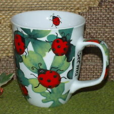 GS-1422 H3 - Motiv-Tasse - Marienkäfer - große Tee-Tasse - Kaffeebecher - 400 ml
