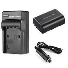 For Sony NP-FH50 NP-FH40 NP-FH30 ALPHA A230 A290 A330 A380 Battery + Charger