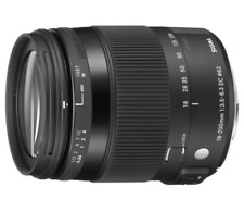 Sigma 18-200mm F3.5-6.3 Contemporary DC Macro OS HSM Lens: SONY A MOUNT