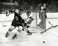 68 Detroit Red Wings Gordie Howe Boston Bruins Bobby Orr 8 X 10 Photo Free Ship