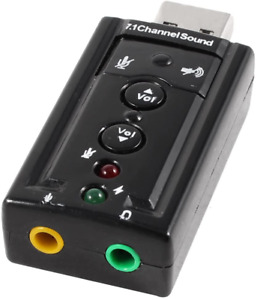 Dynamode USB Sound Card 7