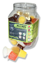 Komodo Jelly Pots Mixed Flavours pack 60 Bearded Dragon Crested Gecko 83255