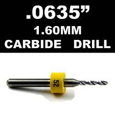 0635 160mm 52 One Carbide Drill Bit Models Hobby Pcb Cnc Dremel Rs