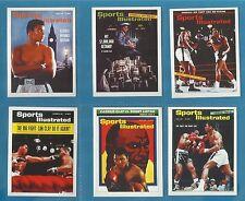 cigarette/trade cards - BOXING - MUHAMMAD ALI - SPORTS ILLUSTRATED - Mint set