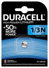 PILA BATTERIA 1/3N CR1/3N DURACELL DL1/3N  2L76 CR11108 LITHIUM 3V LITIO