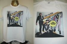 THE DICKIES- THE INCREDIBLE SHRINKING DICKIES ALBUM ART  T SHIRT- WHITE- LARGE