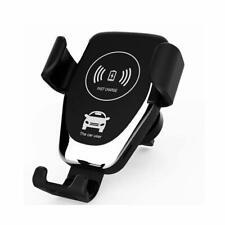 10 Вт Qi беспроводной быстрое автомобильное зарядное устройство крепление держатель для телефона для Galaxy S10+ iPhone 11 Xs