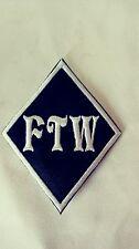 FTW Diamond Patch HARLEY DAVIDSON Outlaw biker 1%er