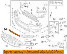 AUDI OEM 15-16 A8 Quattro-Grille-Lower 4H0807697T94