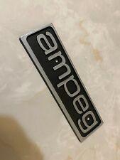 Ampeg Amplifier Logo Badge Vintage 1980's
