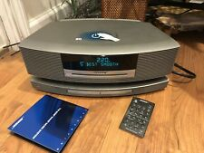 Bose SoundTouch Wave Music System III Titanium Silver W Remote Bose Rich Sound !
