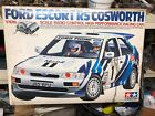 Tamiya Vintage Ford Escort Rs Cosworth Opened And Built Never Run (shelf Queen)