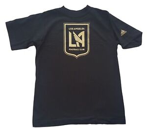 Adidas MLS LAFC Los Angeles Football Club Soccer T-Shirt Youth Sizes Tee