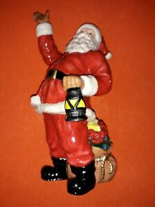 DONEGAL FATHER CHRISTMAS SANTA CLAUS FIGURINE 21cm TALL APPROX
