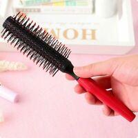Frauen Runde Haarpflege Pinsel Haarbürste Salon Styling Cur M5W9 Dressing C C1R9