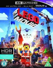 * 4K ULTRA HD Blu-Ray New Sealed * THE LEGO MOVIE * + Blu Ray Movie + Digital