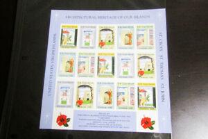 Virgin Islands Progressive Proof Mint NH Sheet-lets 9x sheets NH