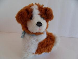 Steiff dog miniature St.Bernard button flag made Germany 1811