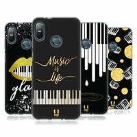 HEAD CASE DESIGNS PIANO MUSIC ART SOFT GEL CASE FOR HTC PHONES 1