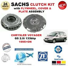 FOR CHRYSLER VOYAGER GS 2.0i 133bhp 1995> SACHS CLUTCH FLYWHEEL COVER and PLATE