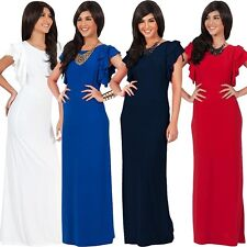 Evening dress,Maternity Suitable,Wedding Party Maxi,Butterfly Sleeve, 010