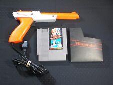Nintendo NES Zap Gun & Super Mario / Duck Hunt Game