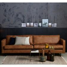3 Sitzer Sofa RODEO CLASSIC Echtleder Leder Lounge Couch Ledersofa cognac NEU
