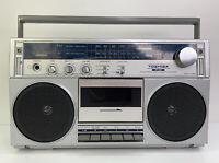 Vintage Toshiba RT-80S Boom Box AM FM Stereo Radio Cassette Recorder