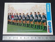 ECOSSE SCOTLAND TEAM FICHE ONZE MONDIAL COUPE MONDE FOOTBALL ITALIA 90 1990