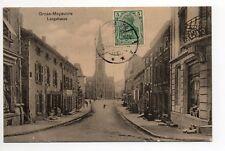 MOYEUVRE GRANDE Gross Moyeuvre Moselle CPA 57 centre ville langstrasse