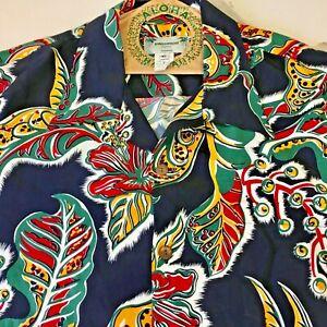 Rare Men's Kamehameha Hawaiian Shirt XL