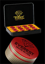 Tiger Everest Laminated Pool Cue Tip 14mm Qty 1 Tip