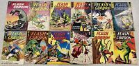 KING GOLD KEY FLASH GORDON 12x COMIC BOOK LOT RUN OF #1-#11 - 1964-65 SP