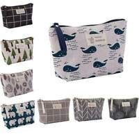 Useful Travel Cosmetic Makeup Bag Organizer Storage Portable Toiletry Case