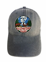 Yellowstone National Park Adjustable Curved Bill Strap Back Dad Hat Baseball Cap
