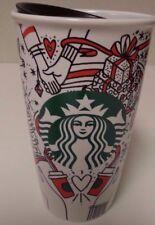 Starbucks 2017 Christmas Holiday Travel Tumbler Mug Coffee Cup Red Dot