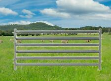 Heavy Duty Sheep/Goat Yard Panels 2.1m x 1m Oval Rails. Delivery Available. PIG