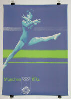 Poster Plakat - Turnen DIN A0 - Olympiade 1972 München - Otl Aicher