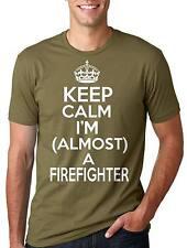Future Firefighter T-shirt Almost a Firefighter Tee shirt Men's Fireman Tee
