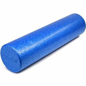 Yes4All EPP Exercise Foam Roller – Extra Firm High Density 24'', Azure Blue
