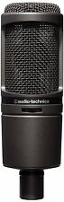 Audio-Technica AT2020USBI iOs Model USB Cardioid Condenser Microphone - Black