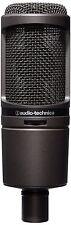 Audio-Technica 2020 USBI IOS Modelo Usb AT Micrófono Condensador Cardioide-Negro